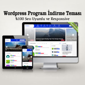 Wordpress Program İndirme Teması